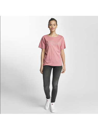 FILA Damen T-Shirt Core Line in rosa