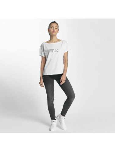 FILA Damen T-Shirt Core Line in weiß