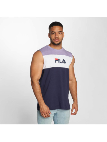 FILA Hombres Tank Tops Level in azul