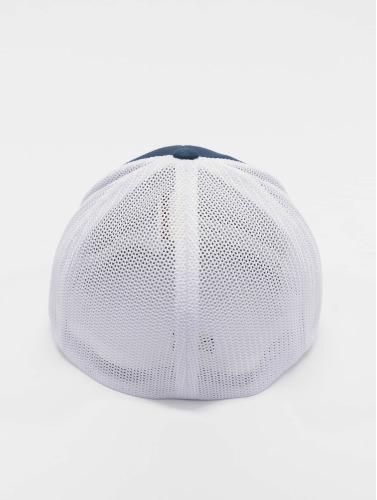 Flexfit <small>    Flexfit   </small>   <br />   ted Cap Mesh Cotton Twill Two Tone in blau
