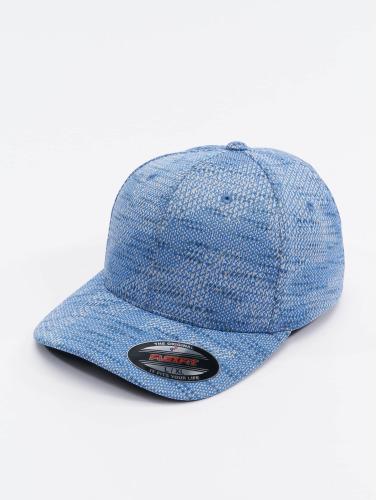 Flexfit <small>    Flexfit   </small>   <br />   ted Cap Jasquard Knit in blau