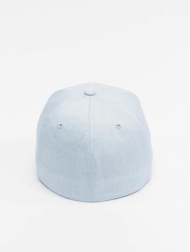 Flexfit <small>    Flexfit   </small>   <br />   ted Cap Pastel Melange in blau
