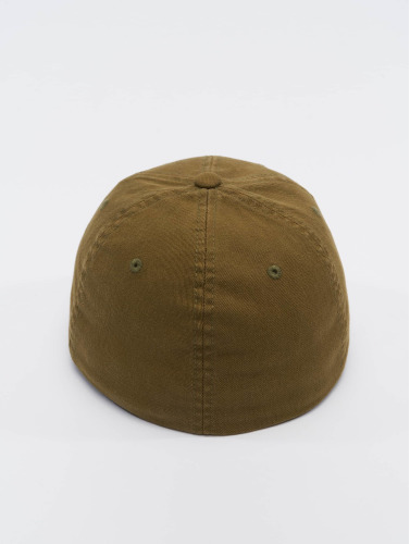 Flexfit <small>    Flexfit   </small>   <br />   ted Cap Garment Washed Cotton Dat in braun