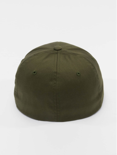 Flexfit <small>    Flexfit   </small>   <br />   ted Cap Wooly Combed in olive