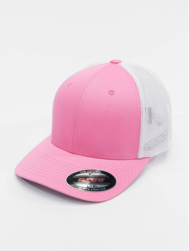 Flexfit Damen <small>    Flexfit   </small>   <br />   ted Cap Mesh Cotton Twill in pink