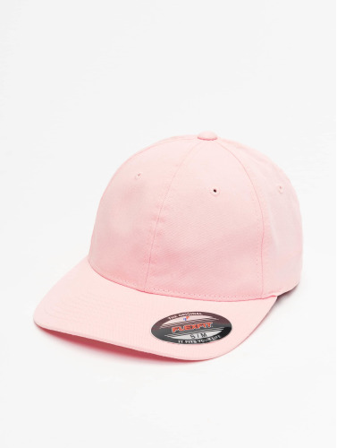 Flexfit <small>                                                         Flexfit                                                     </small>                                                     <br />                                                     ted Cap Garment Washed Cotton Dat in rosa