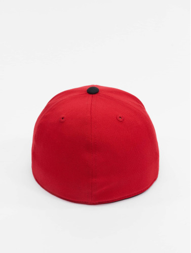 Flexfit <small>    Flexfit   </small>   <br />   ted Cap Premium 210 Two Tone in rot