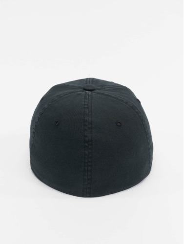 Flexfit <small>    Flexfit   </small>   <br />   ted Cap Garment Washed Cotton Dat in schwarz