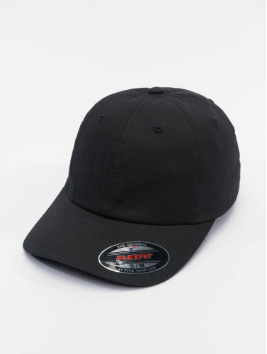 Flexfit <small>    Flexfit   </small>   <br />   ted Cap Cotton Twill Dad in schwarz