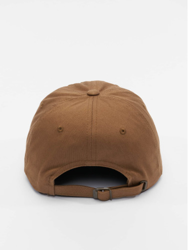 Flexfit Snapback Cap Low Profile Cotton Twill in beige