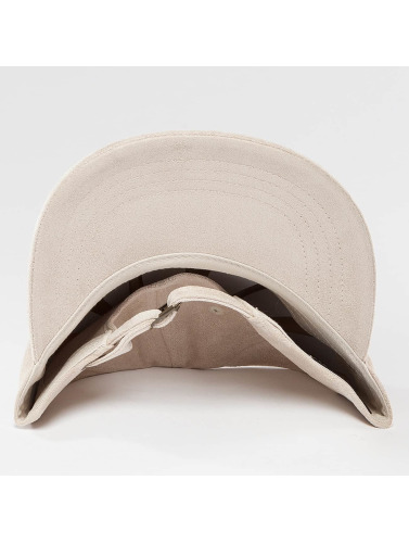 Flexfit Herren Snapback Cap Low Profile Velours in beige