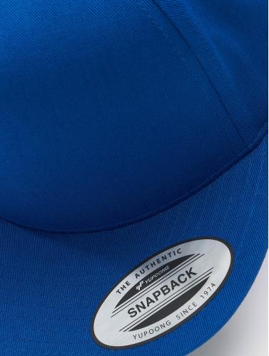 Flexfit Snapback Cap Classic 5 Panel in blau