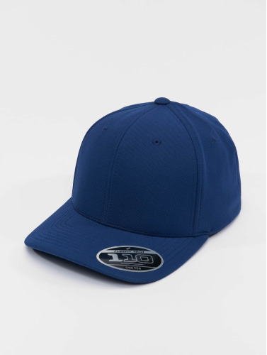 Flexfit Snapback Cap 110 Cool & Dry Mini Pique in blau