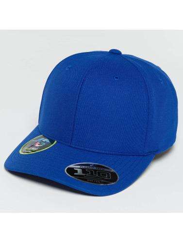 Flexfit Snapback Cap 110 Cool & Dry Mini Pique in blau