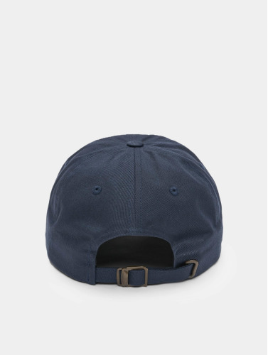 Flexfit Snapback Cap Low Profile Cotton Twill in blau