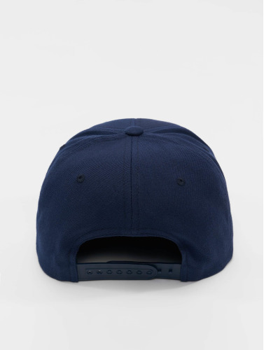 Flexfit Snapback Cap Camo Visor in blau