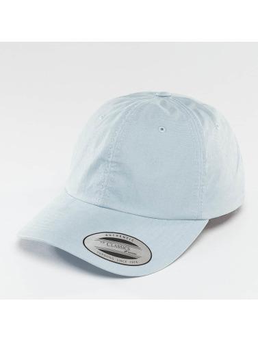 Flexfit Herren Snapback Cap Low Profile Washed in blau