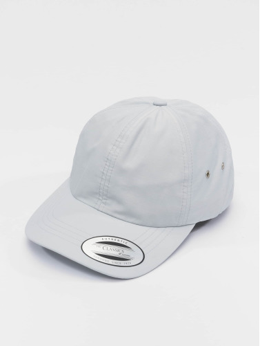 Flexfit Snapback Cap Low Profile Water Repellent in blau