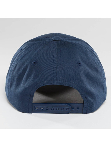 Flexfit Snapback Cap Curved Classic in blau