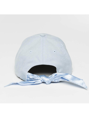 Flexfit Snapback Cap Satin Bow Dad in blau