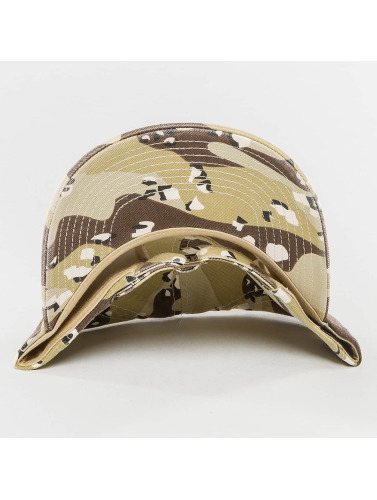 Flexfit Snapback Cap Low Profile in braun