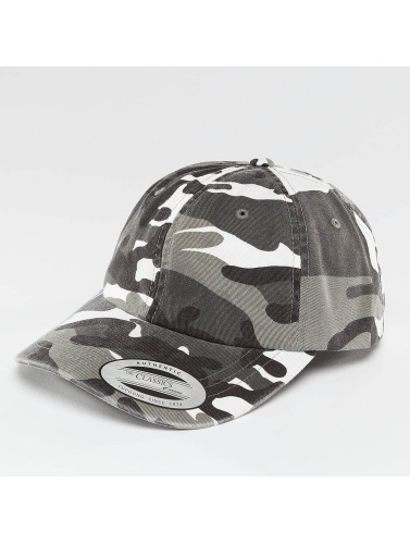 Flexfit Snapback Cap Low Profile Camo Washed in camouflage