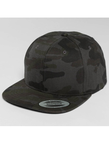 Flexfit Snapback Cap Camo Cotton in camouflage