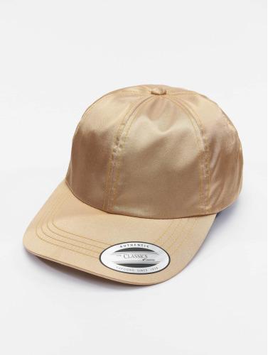 Flexfit Snapback Cap Low Pofile Satin in goldfarben