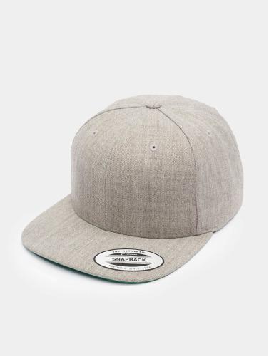 Flexfit Snapback Cap Classic in grau