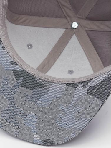 Flexfit Snapback Cap Camo Visor in grau