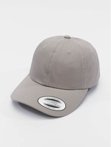 Flexfit Snapback Cap Low Profile Cotton Twil in grau