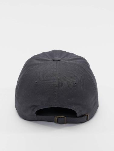 Flexfit Snapback Cap Low Profile Cotton Twil in grau
