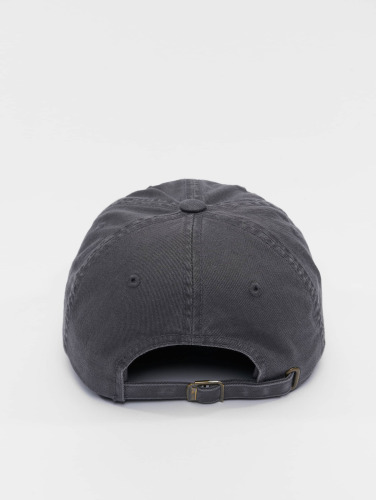 Flexfit Snapback Cap Low Profile Destroyed in grau