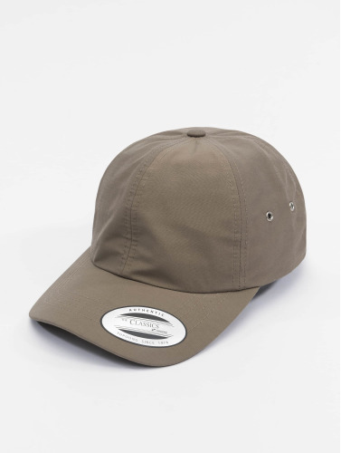 Flexfit Snapback Cap Low Profile Water Repellent in grau