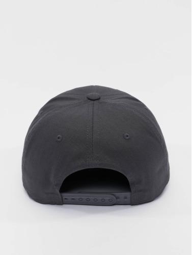 Flexfit Snapback Cap Curved Classic in grau