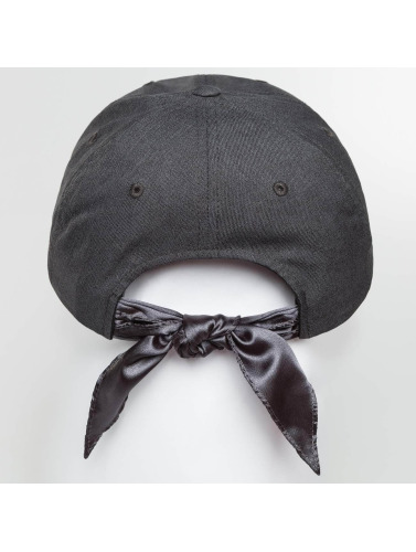 Flexfit Snapback Cap Satin Bow in grau