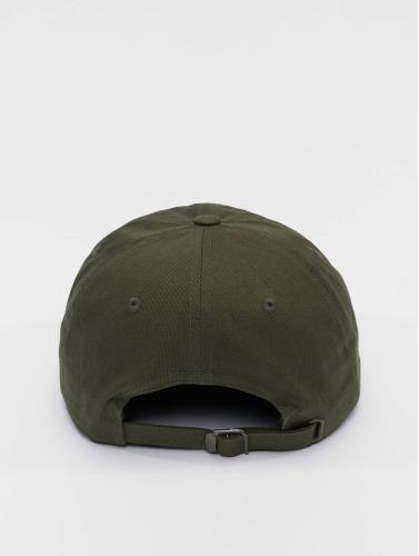 Flexfit Snapback Cap Low Profile Cotton Twill in olive