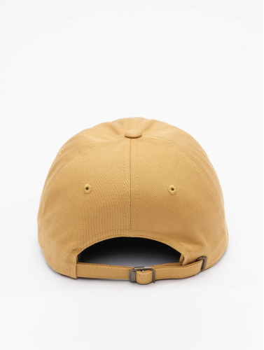 Flexfit Snapback Cap Low Profile Cotton Twill in orange