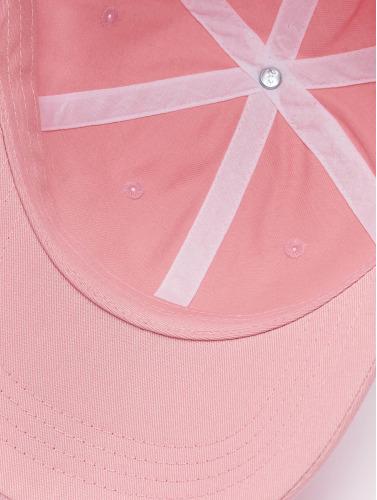 Flexfit Snapback Cap Low Profile Cotton Twill in pink
