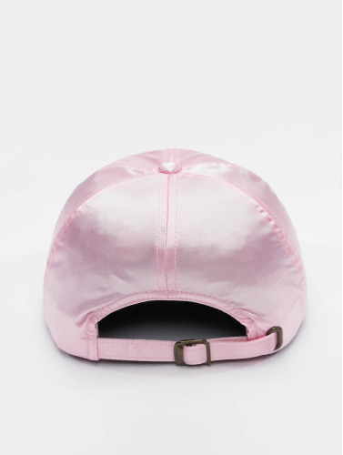 Flexfit Snapback Cap Low Pofile Satin in pink