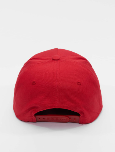 Flexfit Snapback Cap Classic 5 Panel in rot
