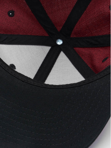 Flexfit Snapback Cap Melange 2 Tone in rot