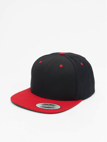Flexfit Snapback Cap Classic Two Tone in schwarz