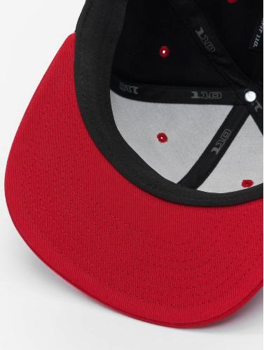 Flexfit Snapback Cap 110 in schwarz