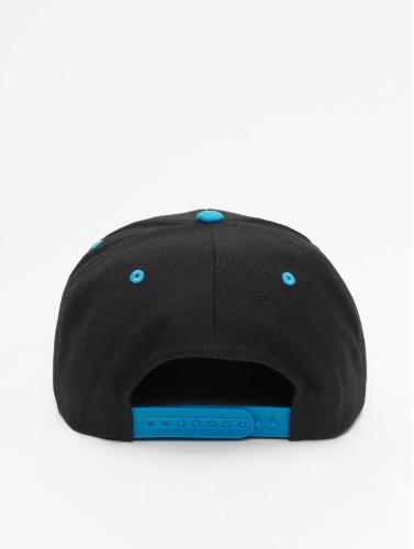 Flexfit Snapback Cap Classic Two Tone in schwarz