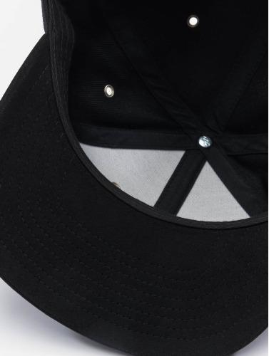 Flexfit Snapback Cap Boots Suede in schwarz