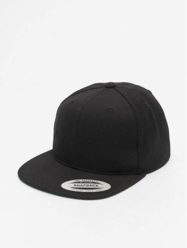 Flexfit Snapback Cap Classic in schwarz