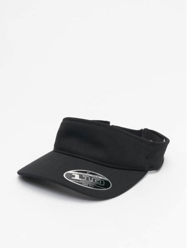 Flexfit Snapback Cap Visor in schwarz