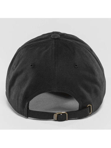 Flexfit Snapback Cap Twill Dad in schwarz