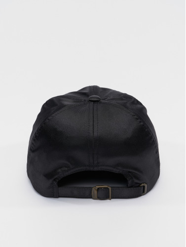 Flexfit Snapback Cap Low Pofile Satin in schwarz